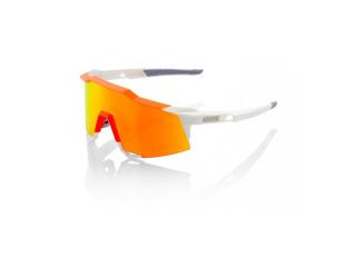 4040f7ca1 100% Speedcraft Tall White/Neon Orange w/ HiPer Red Multilayer Mirror