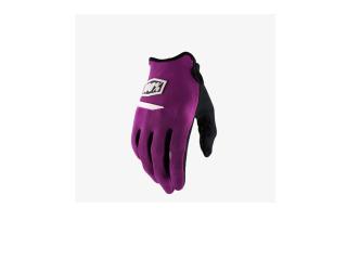 100% rukavice Ridecamp Purple